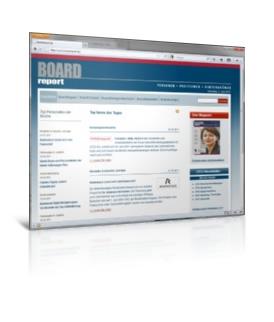 Datenbank, CMS, Redaktionssystem, Joomla-Erweiterung Boardreport