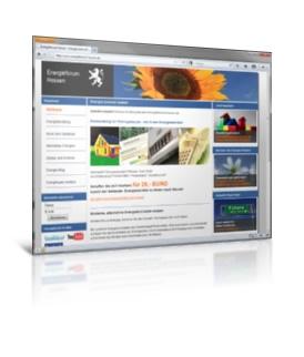 Webdesign, Portal Programmierung - energieforum-hessen.de