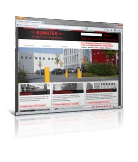 Webdesign, Joomla, SEO - Rumatek GmbH