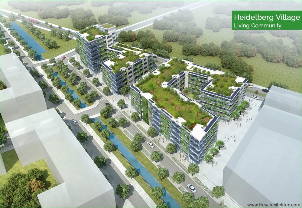 Nachhaltige Architektur: Heidelberg Village