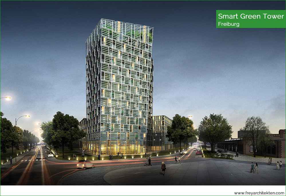 Smart Green Tower, Freiburg